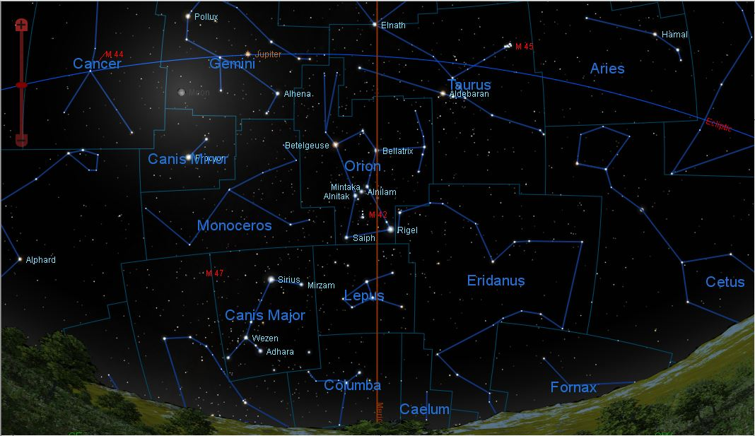 Star Map Northern Hemisphere February 2014 Here is a guide to the sky ...