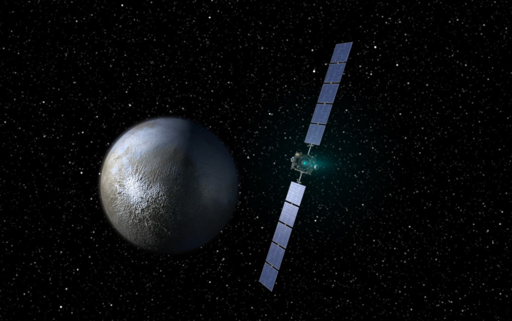 dawn approaching Ceres